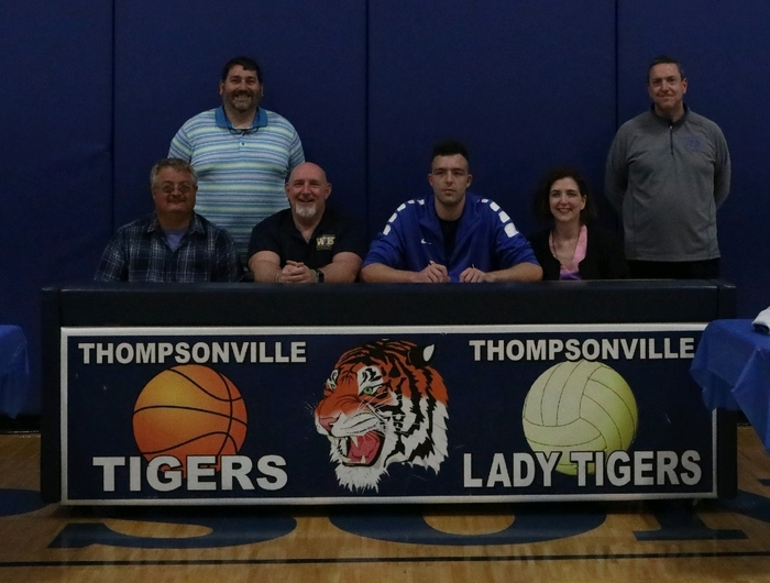 Anthony Darge signed his Letter of Intent to play Basketball at West Kentucky Technical School