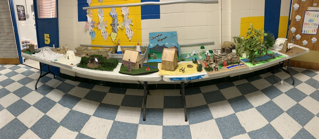 5th grade Indigenous Dwellings Project. These models turned out amazing!