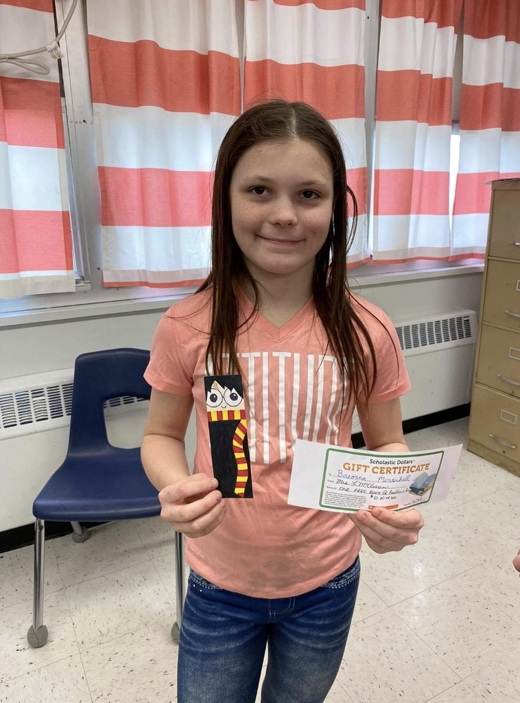 Our bookmark winner!